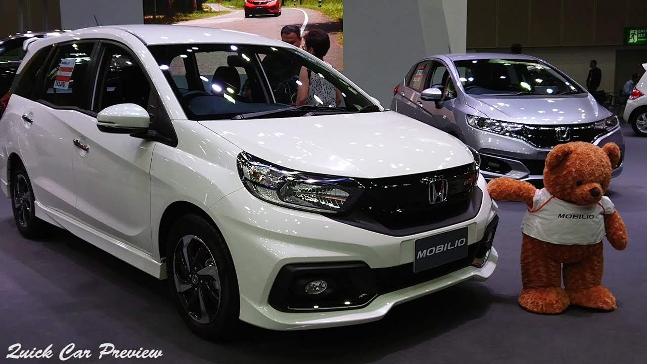 Quick Preview 2019 Honda Mobilio Rs Cvt Youtube