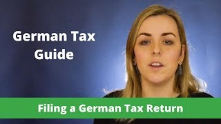 How to File a Geŗman Tax Return