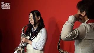 今回はサックスの講師に宮崎隆睦氏をお迎えして古畑さんに吹奏楽の定番「宝島」に挑戦してもらました。サックス・ワールド本誌に掲載のレッ...