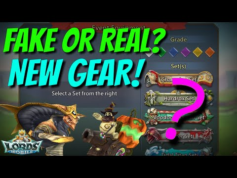 NEW Gear! Fake Or Real? - Lords Mobile