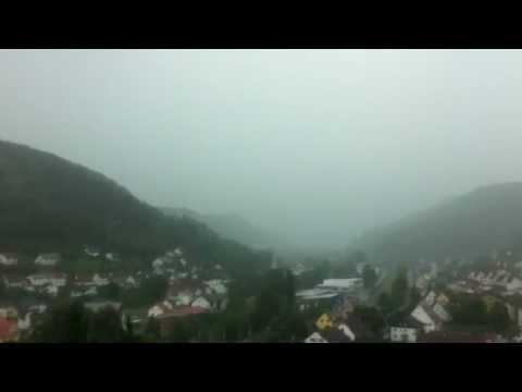 Blitzeinschlag Oberndorf am Neckar 10.07.2011