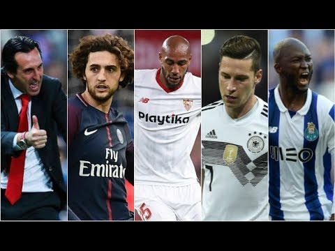 The Unai Emery Revolution Is Here! (Rabiot, Draxler, Nzonzi & Danilo Linked) | AFTV Transfer Daily
