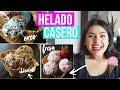 Como Hacer Helado Casero FÁCIL Y SIN MÁQUINA!! | RebeO
