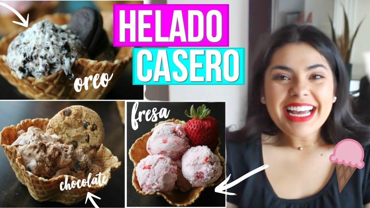 Como hacer helado casero f cil y sin m quina rebeo - Como hacer helados caseros ...
