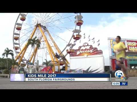 Kids Mile 2017 at the South Florida Fairgrounds