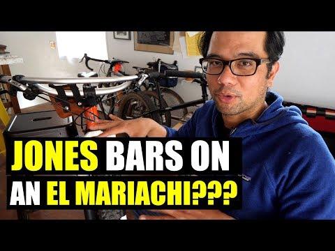Jones-ifying a Bike?  (Jones Bars on an El Mariachi)