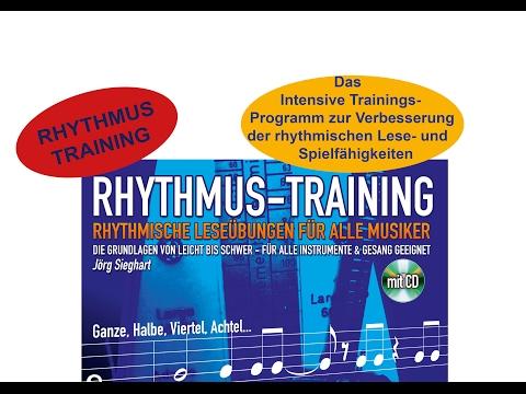 Rhythmus Training Lehrheft Noten mit CD für alle Musiker !