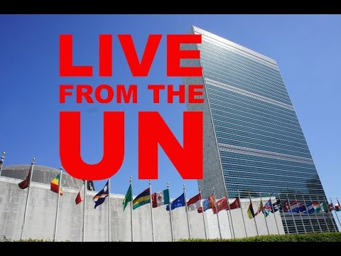 We come to you LIVE from the UN in NY! and chat climate trea