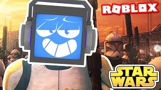 STAR WARS Obby! (in Roblox) ► Fandroid the Musical Robot!