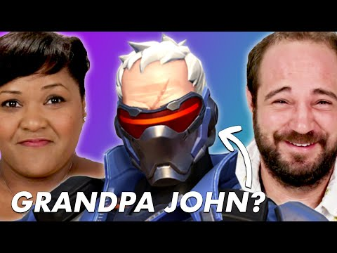 """Parents Guess """"Overwatch"""" Hero Names"""