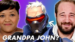 "Parents Guess ""Overwatch"" Hero Names"