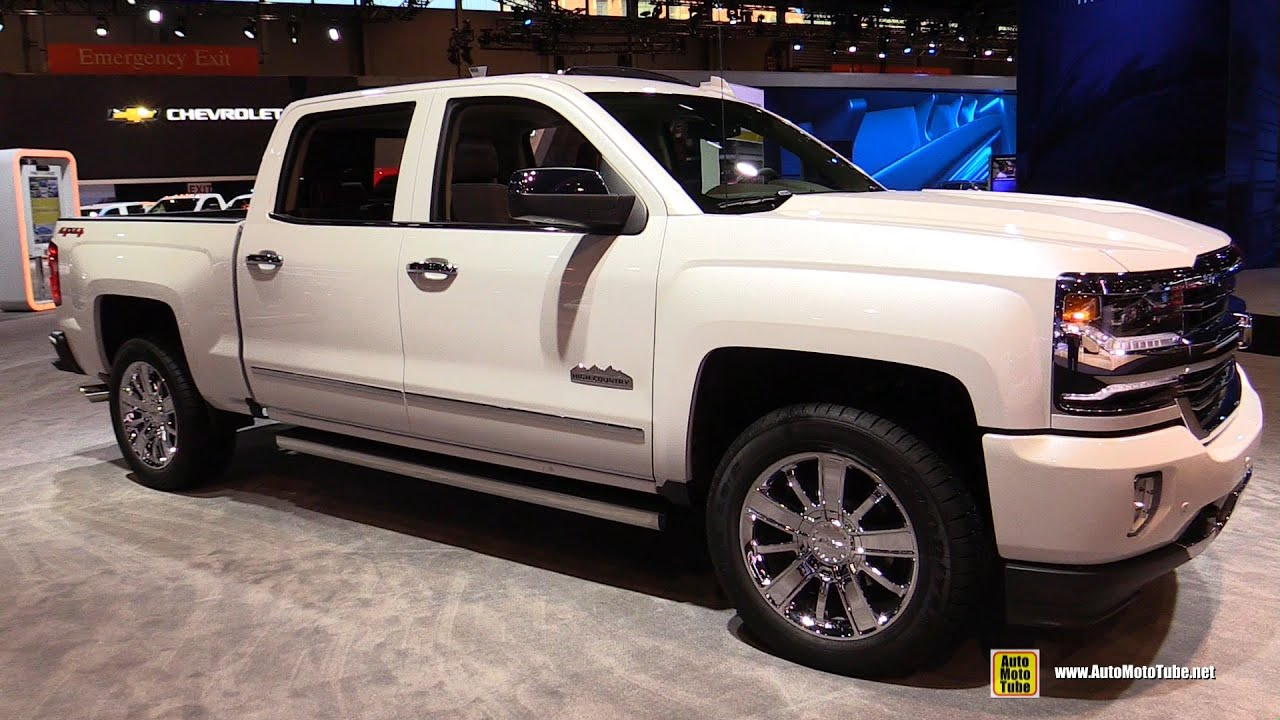 2016 chevrolet silverado 1500 high country exterior interior walkaround 2016 chicago auto. Black Bedroom Furniture Sets. Home Design Ideas