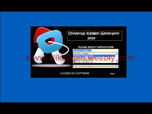 Universal keygen for all softwares online