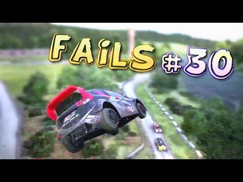 Racing Games FAILS Compilation #30