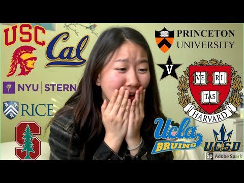 College Decision Reactions 2019 (Ivies, Stanford, UCLA, Vanderbilt, USC, Rice, NYU & More!)