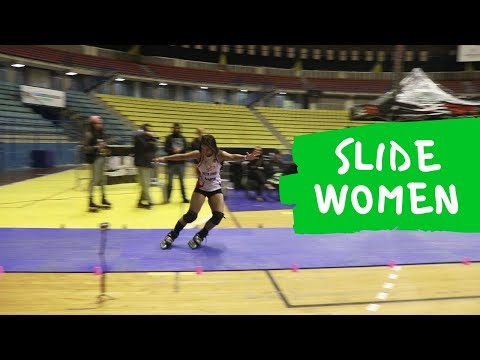 Slide Women - 2018 Sao Paulo (Brazil) - South American freestyle