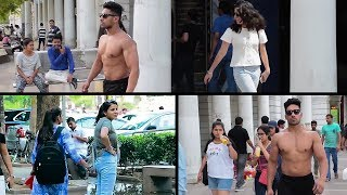 When Fitness Freak goes Shirtless in Public | India [Must See Public Reaction]