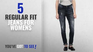 Top 10 Regular Fit Jeans For Womens [2018]: SF Jeans by Pantaloons Women