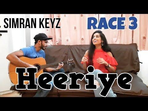 Heeriye Race 3 | Acoustic Cover by Simran Keyz ft. MJ | Salman Khan & Jacqueline | Neha Bhasin