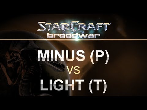StarCraft - Brood War 2017 - Minus (P) v Light (T) on Fighting Spirit