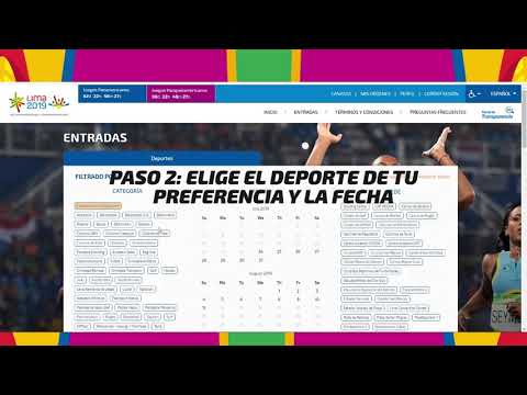 Calendario Juegos Panamericanos Lima 2019 Entradas.Lima 2019 Venta Oficial De Entradas Aqui