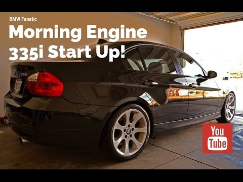 BMW 335i N54 Morning Engine Start Up!