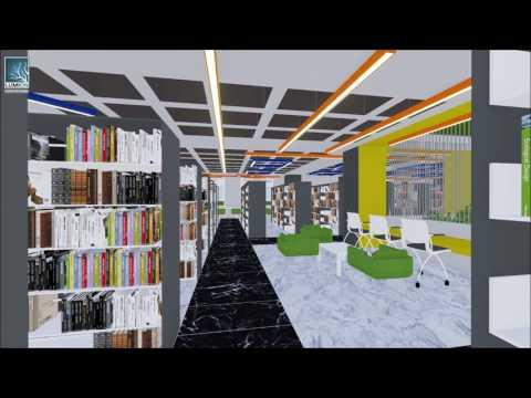 Marmara Üniversitesi Merkez Kütüphane Yenilenme Projesi Kısa Versiyon