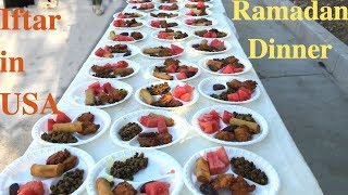 Ramadan Iftar N Dinners At Our Local Mosque In California, USA - Eid Mubarak