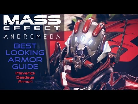 Mass Effect Andromeda How To Get The Best Looking Armor Maverick Deadeye Set Youtube