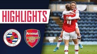 HIGHLIGHTS | Reading 0-3 Arsenal Women | Women's Super League