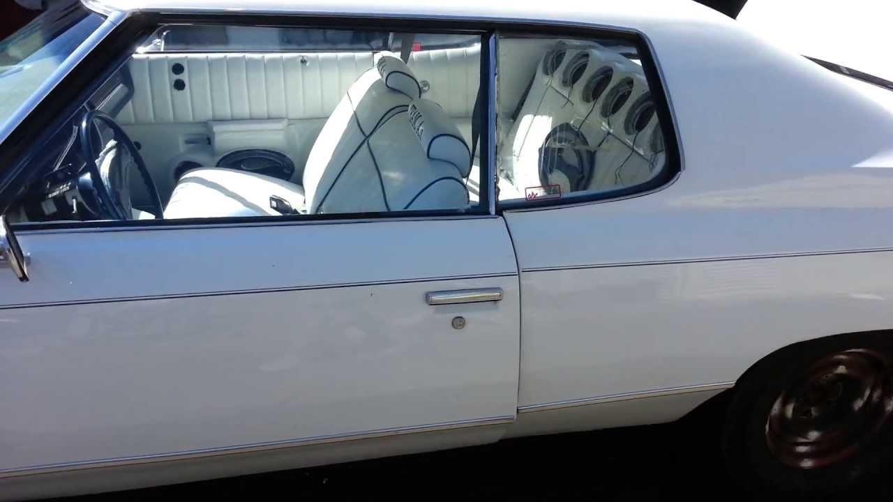 medium resolution of 1974 chevy impala custom paint and interior and trunk