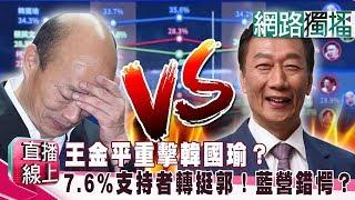 (網路獨播版)王金平重擊韓國瑜?7.6%支持者轉挺郭!藍營錯愕?《直播線上》20190612-1