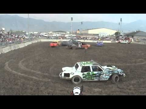 Tooele Demolition Derby 08/04/2007 Heat One