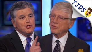 """Ted Koppel Tells Hannity """"You're Bad For America"""