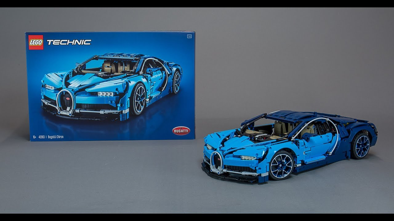 lego technic 42083 bugatti chiron build review youtube. Black Bedroom Furniture Sets. Home Design Ideas