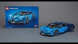 LEGO Technic 42083 Bugatti Chiron BUILD + REVIEW