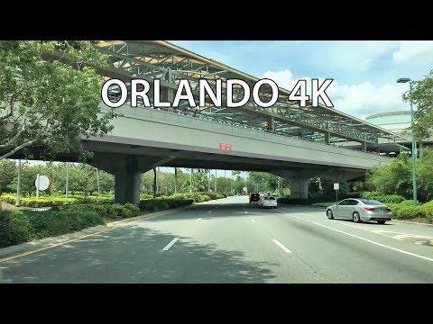 Orlando 4K - Tourist Strip Drive