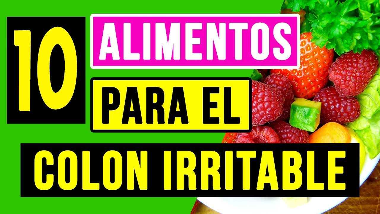 que fibras comer para el colon irritable