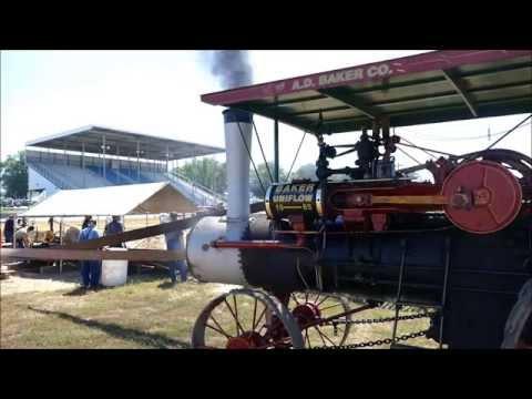 Steam Powered Sawmill at TVPPA show