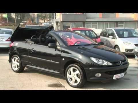 peugeot 206 cc 1 6 youtube. Black Bedroom Furniture Sets. Home Design Ideas