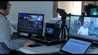 Building a virtual studio in an office space with a Tricaster Mini