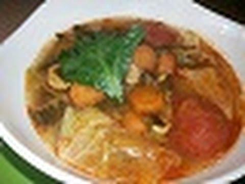 Download طريقة تحضيرشوربة الملفوف والخضار الصحية وصفات رمضانية\ صحي مع مهى