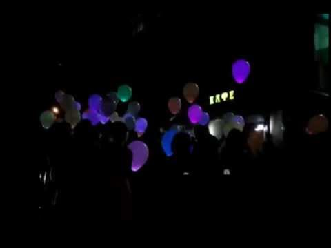 Светящиеся шары мигающие - YouTube