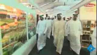 محمد بن راشد يزور معرض عالم الأغذية الحلال