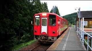 秋田内陸縦貫鉄道 阿仁マタギ駅のAN-8800形 Akita Nairiku Jūkan Railway, Ani-Matagi Station (2018.8)