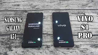 Samsung Galaxy A51 vs Vivo S1 Pro | SpeedTest and Camera comparison