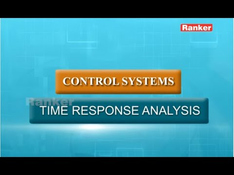 Control Systems - Time Response Analysis - Online Video Classes