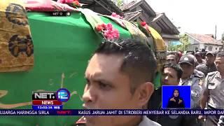 Prosesi Pemakaman Suporter Persija Usai Dikeroyok Suporter Persib-NET12