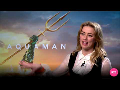 Aquaman's Amber Heard talks about playing an empowered superhero and her banter with Jason Momoa