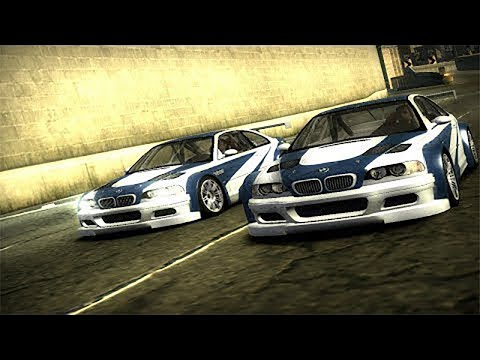 Need For Speed: Most Wanted - BMW M3 GTR Run